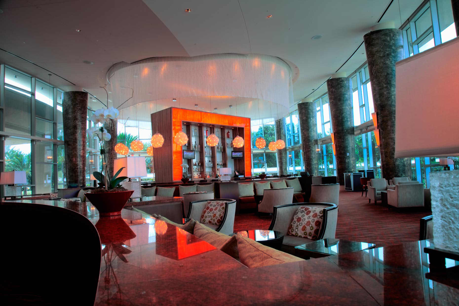 Hyatt Hotel Rocks Bar | Hotel & Resort Photography