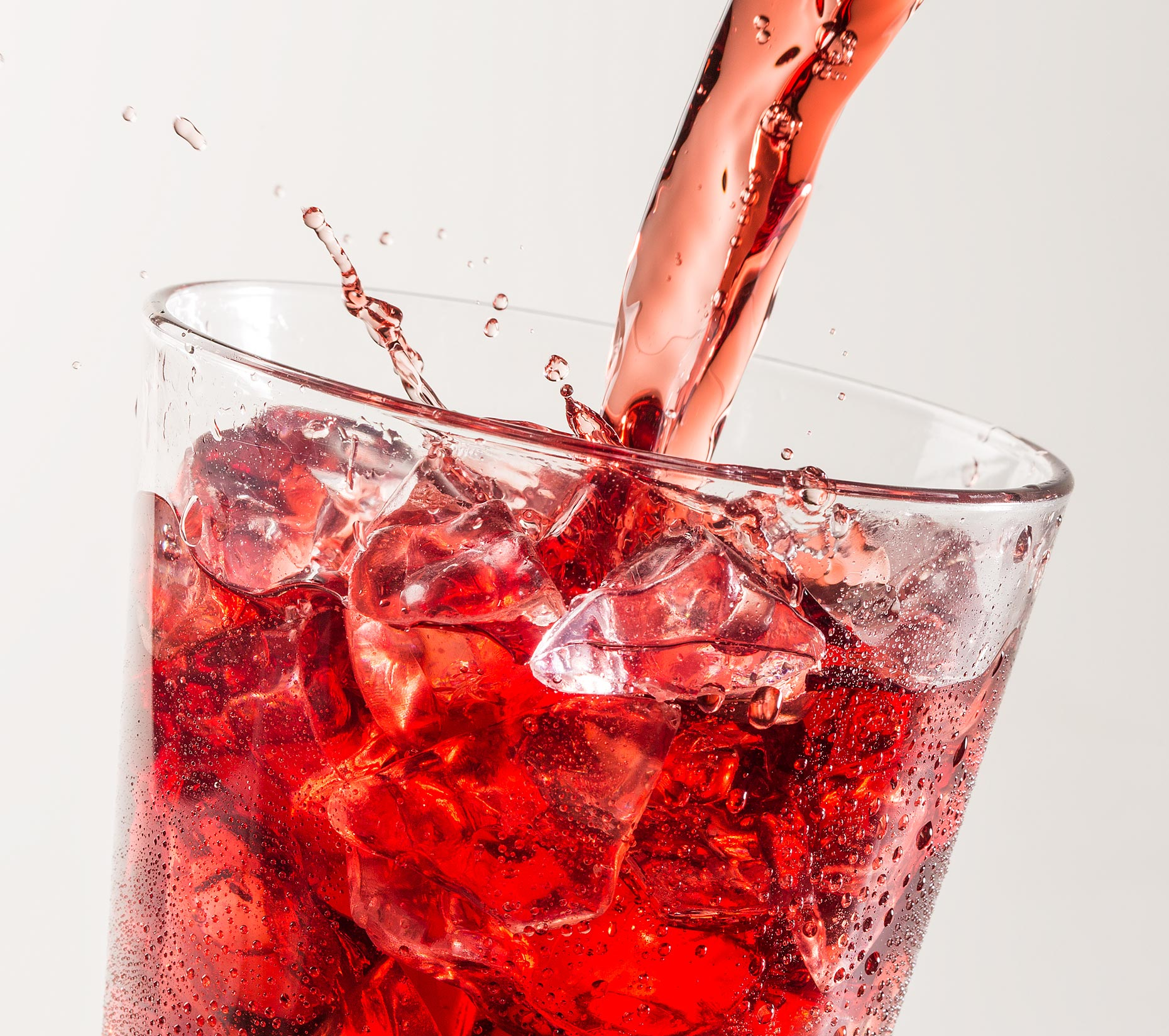 Beverage Photography | Cranberry Beverage