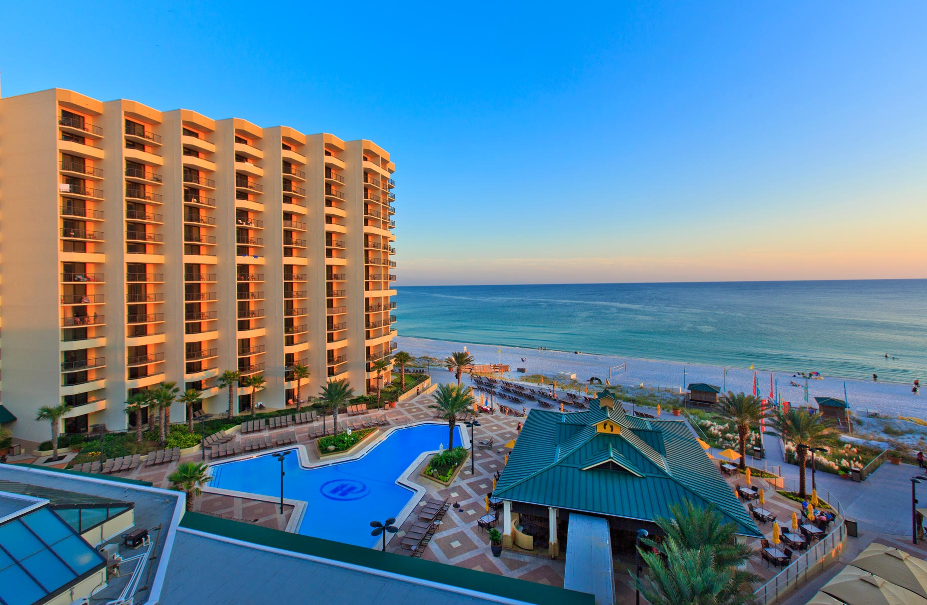 Hotel & Resort Photography | Hilton Sandestin Florida Hotel Golf Resort & Spa