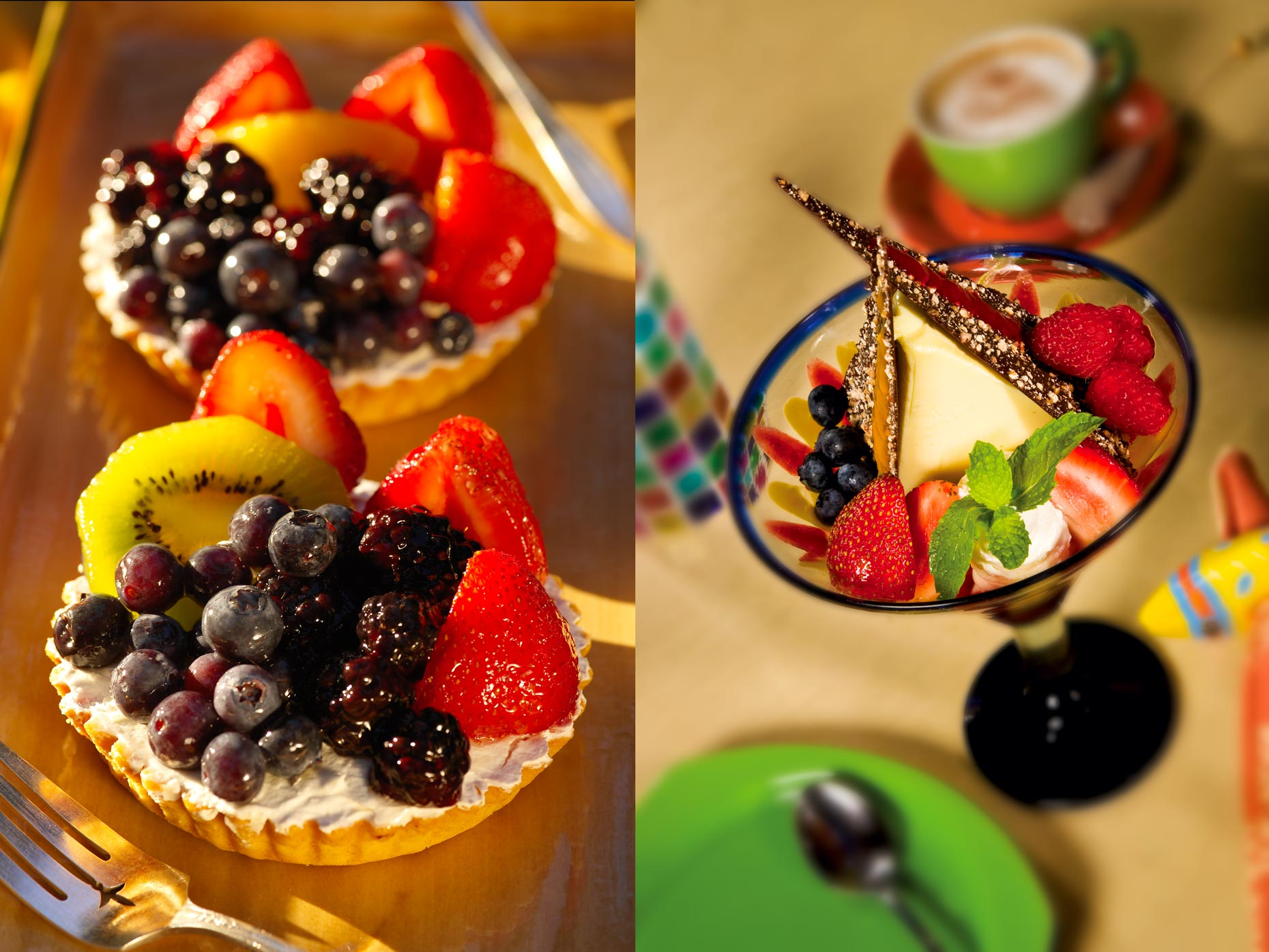 Dessert Photography | Dessert with Berries