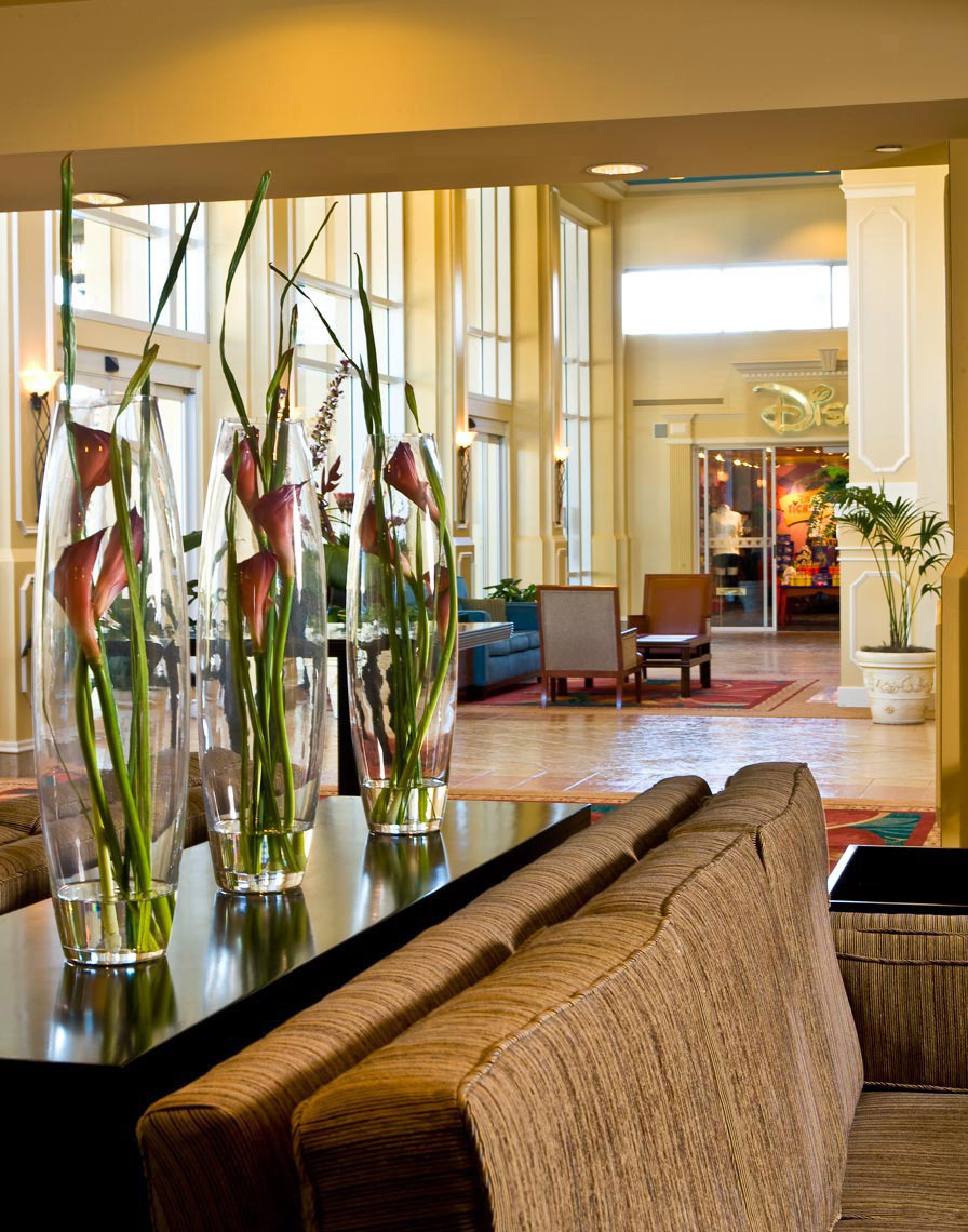 Royal Plaza Lobby | Orlando Hotel Photographer