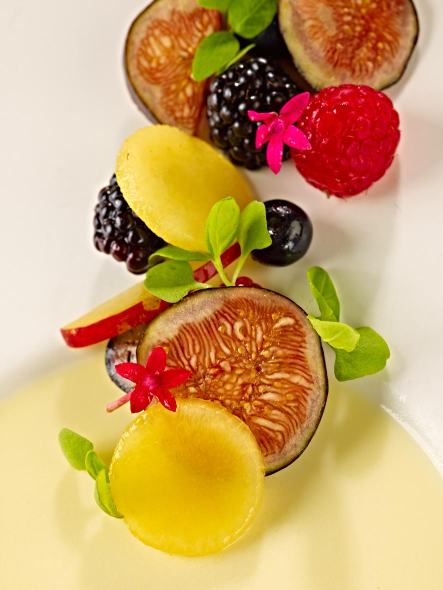 Dessert Photography | Fruit Dessert