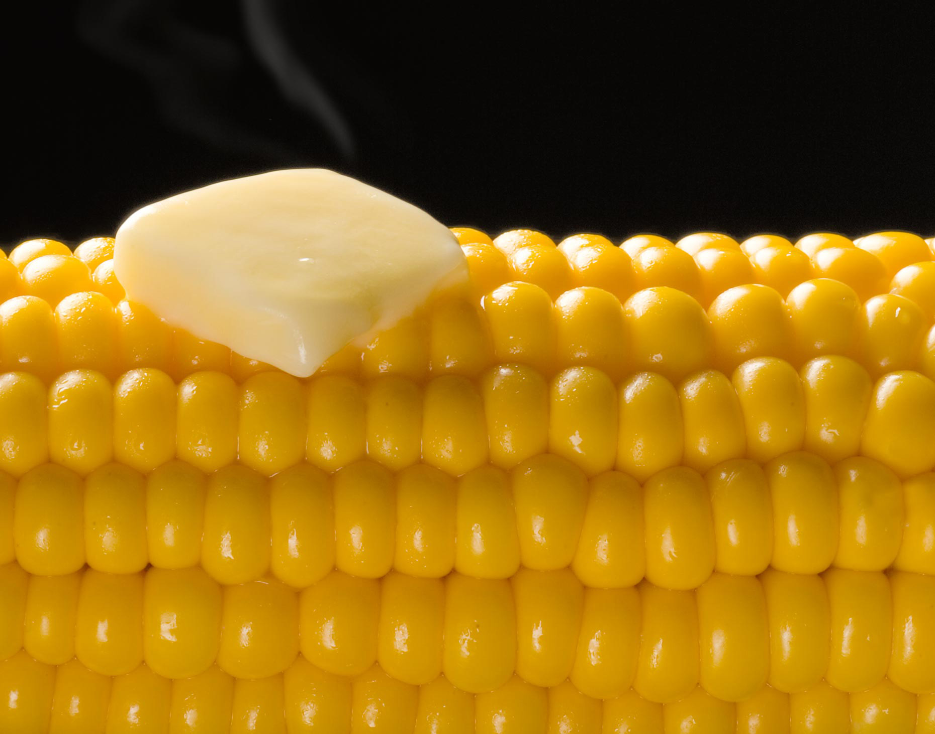 Corn with melting Butter | Food Photography
