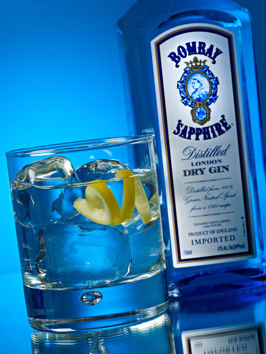 Food & Beverage Photography | Bombay Gin Beverage