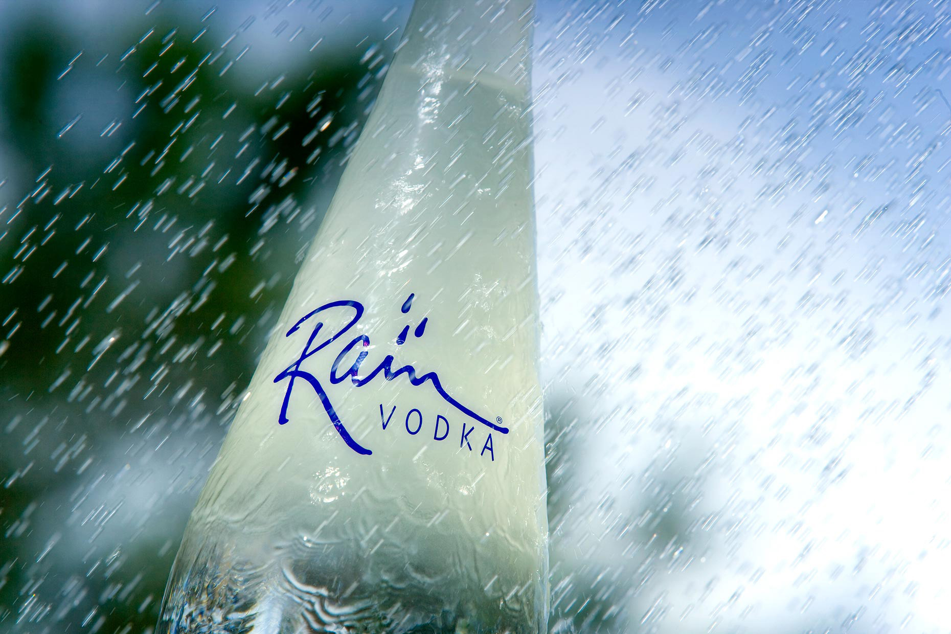 Beverage Photography | Rain Vodka