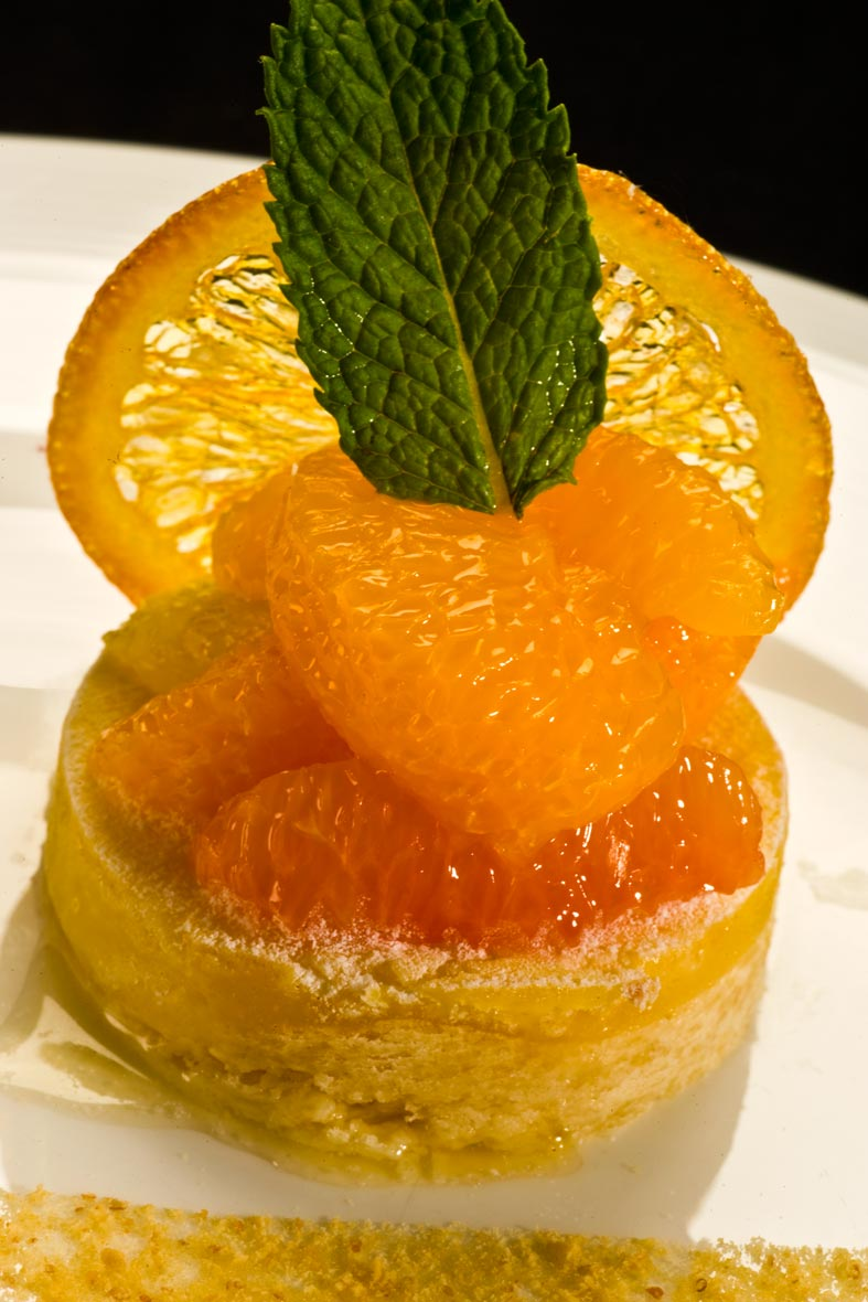 Dessert Photography | Orange Mint Dessert