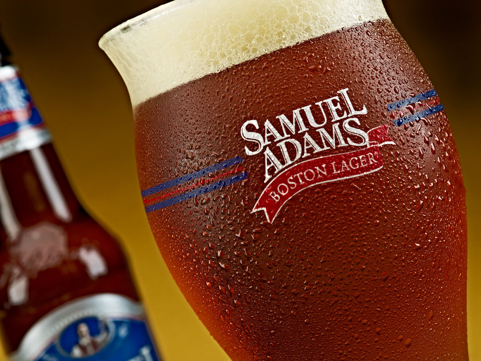 Beverage Photography | Sam Adams Beer