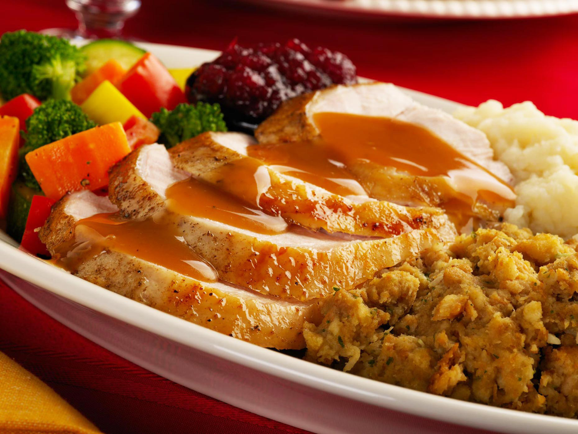 Food & Beverage Photographer | Turkey Dinner