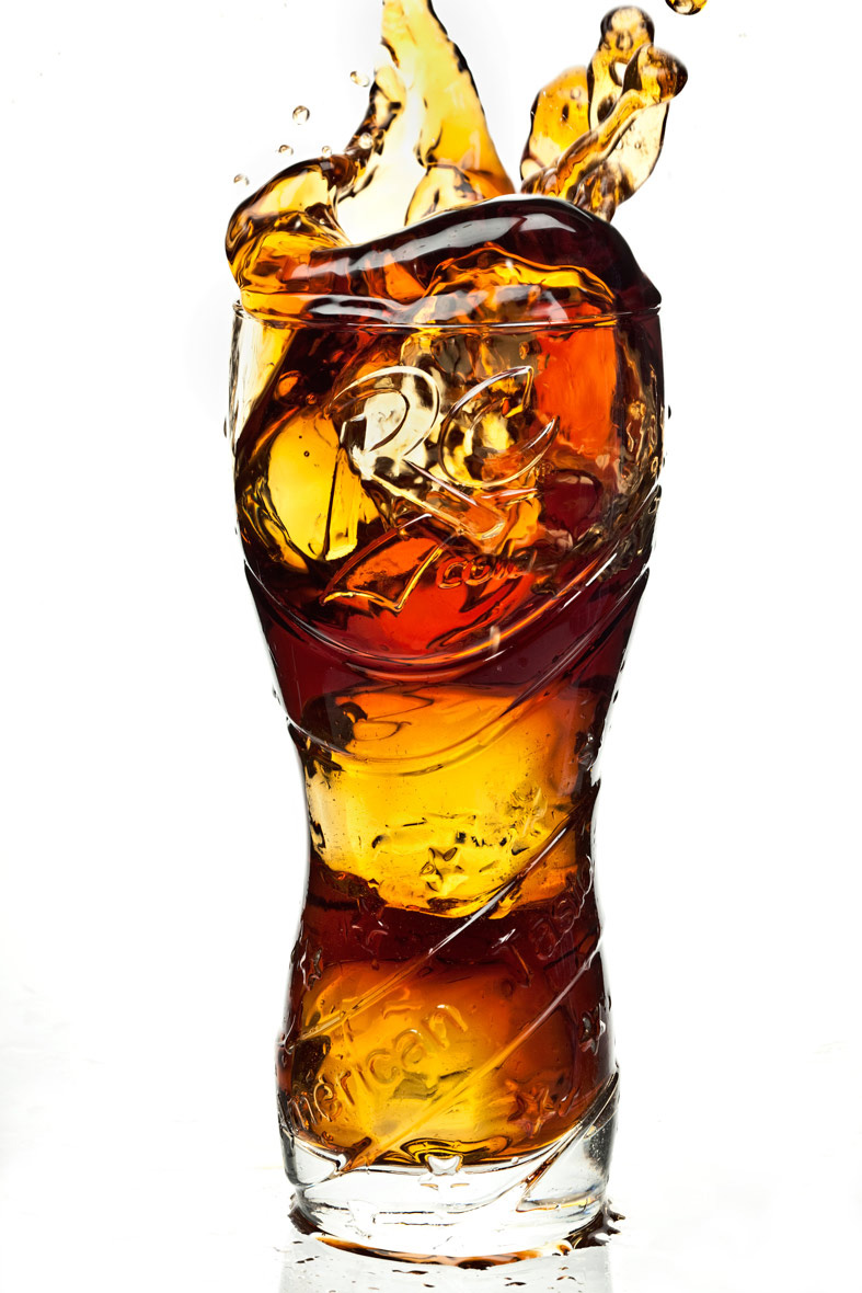 Beverage Photography | RC Cola Splash