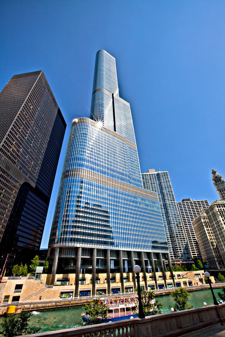 Trump Towers Chicago | Architecture Photographer