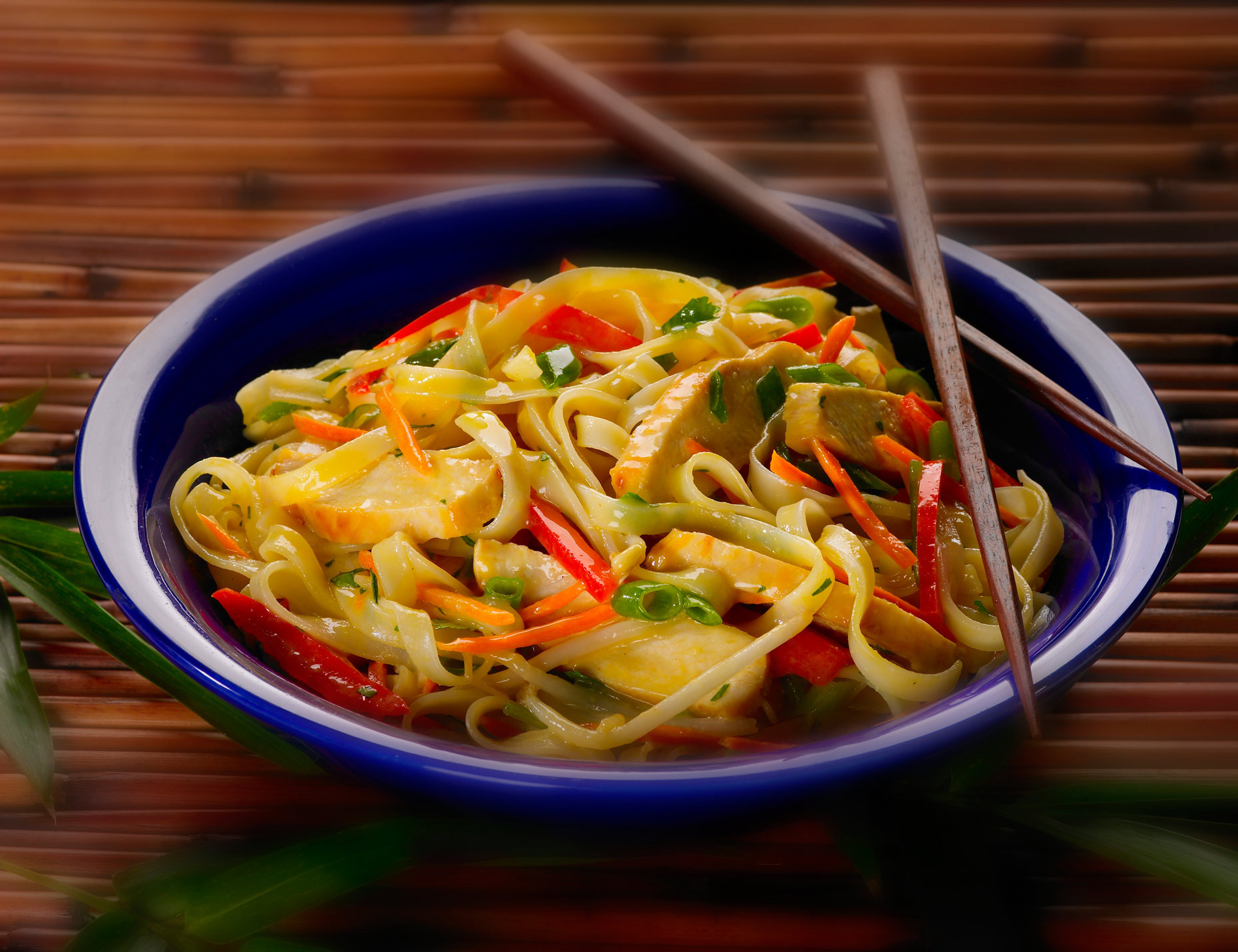 Food Photography | Asian Noodle Dish