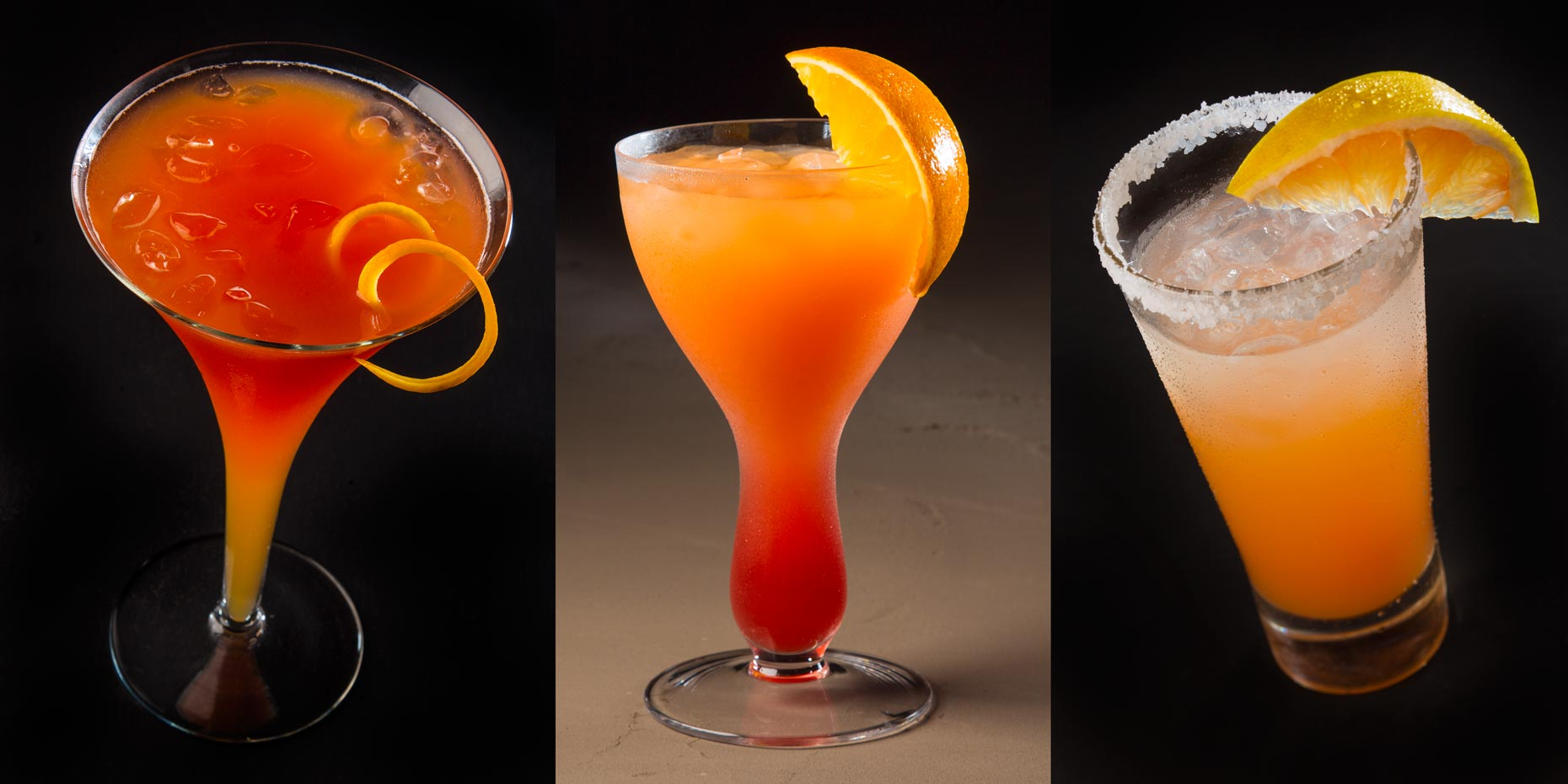 Beverage Photography | Orange Drink  Florida Citrus Menu