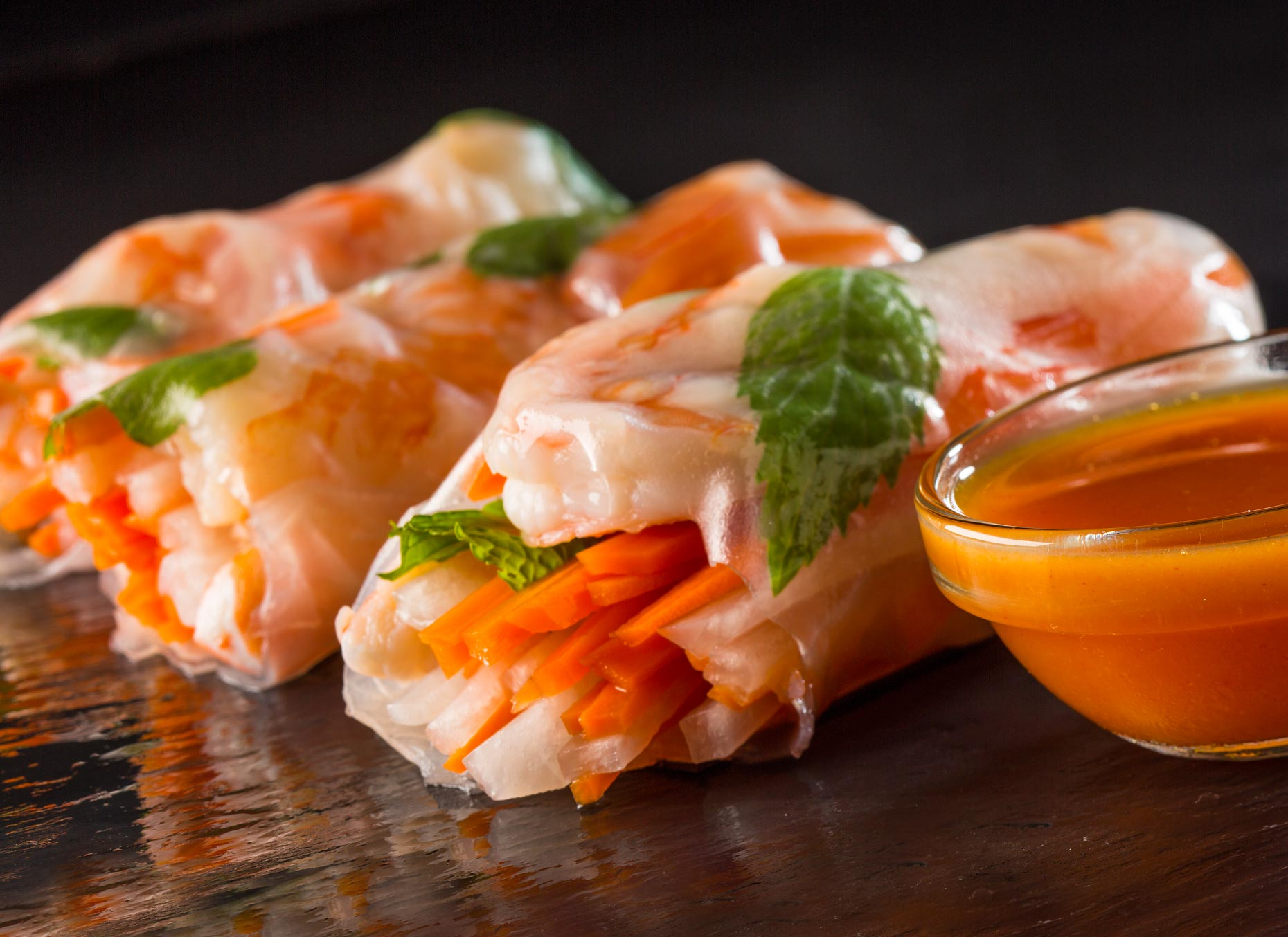 Orlando Food Photography | Summer Rolls