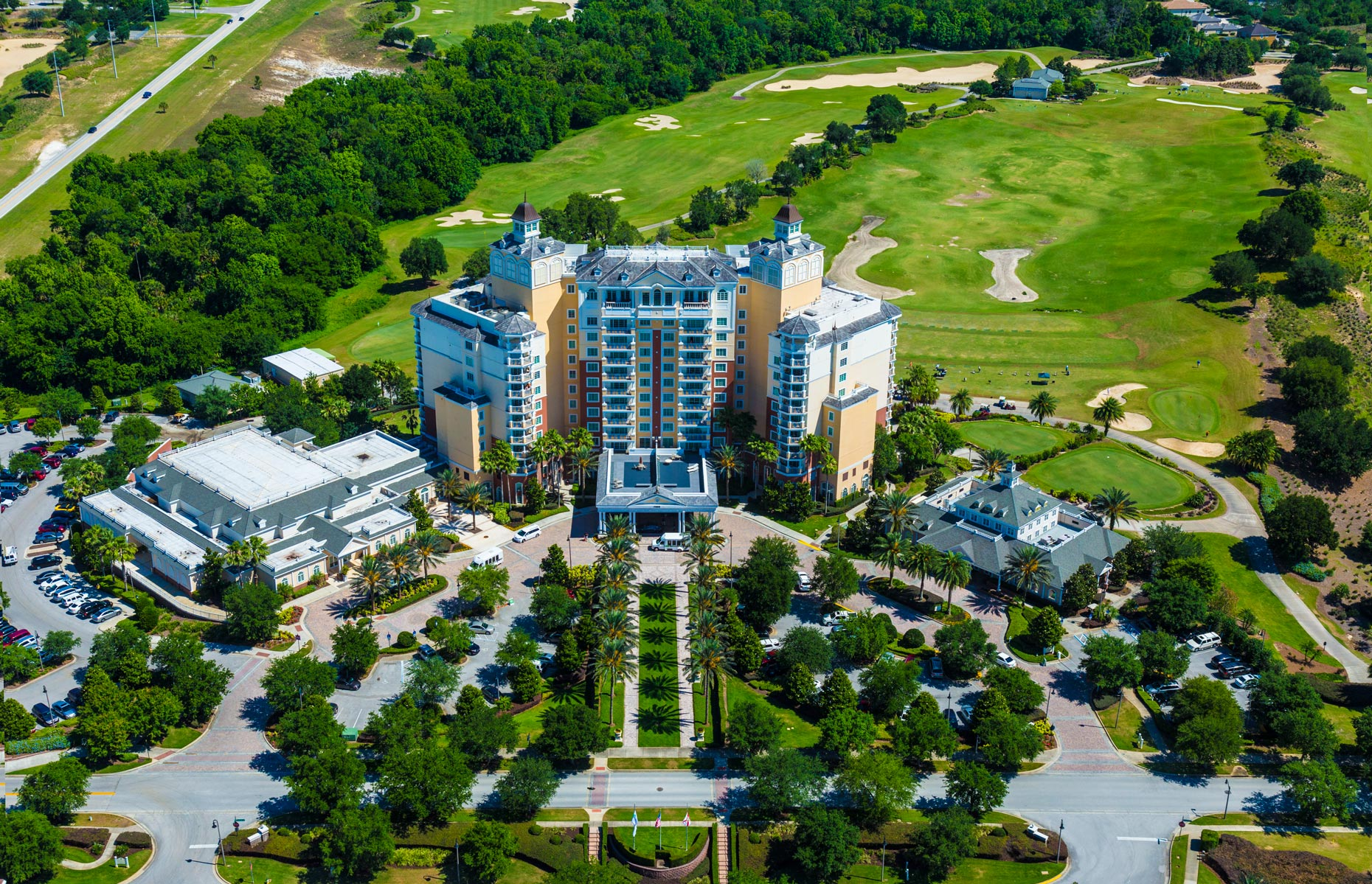 Aerial Photography | Omni Hotel Champions Gate Orlando Aerial View 1