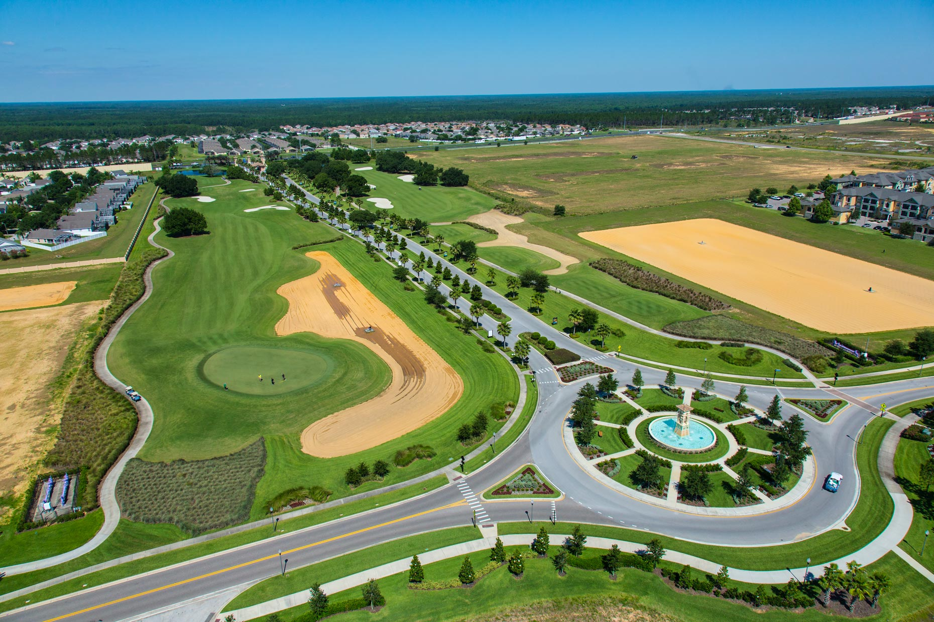 Aerial Photography | Lennar Homes Golf Course