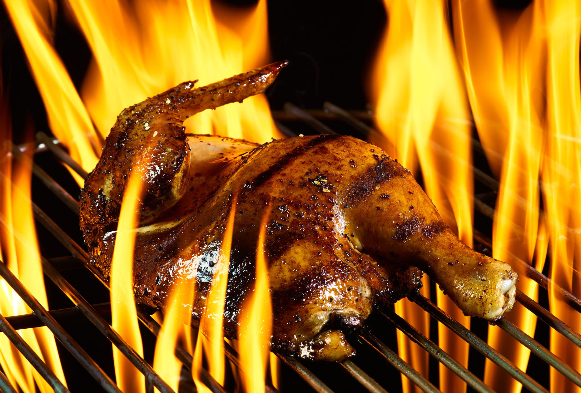 Food Photography | Chicken in Fire