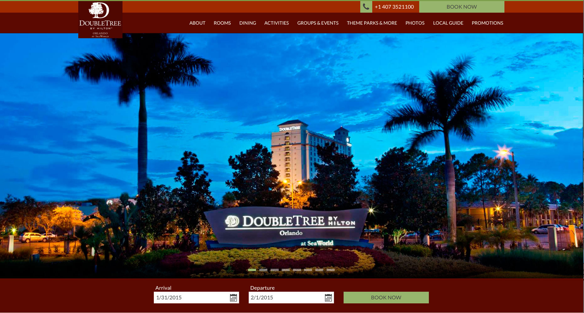 DoubleTree at Sea World Orlando Resort