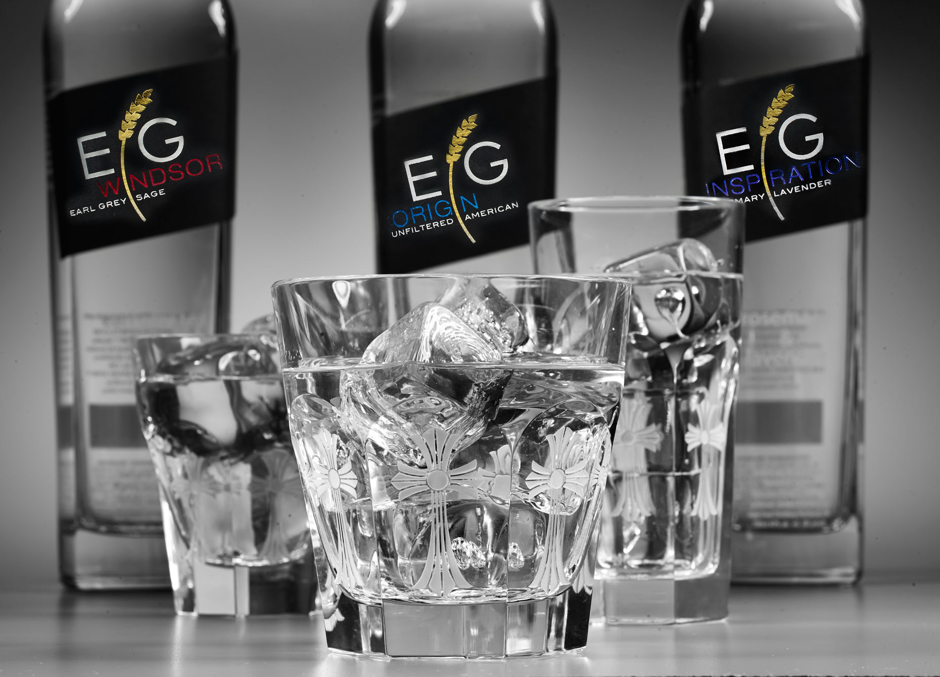 Beverage Photography | EG Vodka