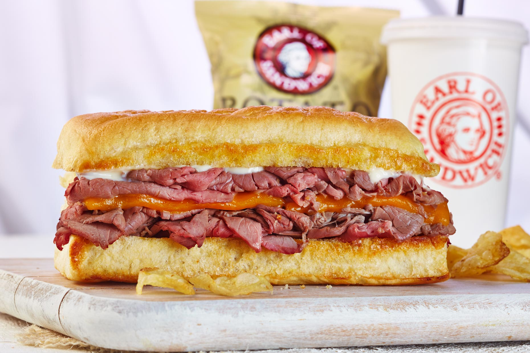 Food Photography | Earl of Sandwich Roast beef
