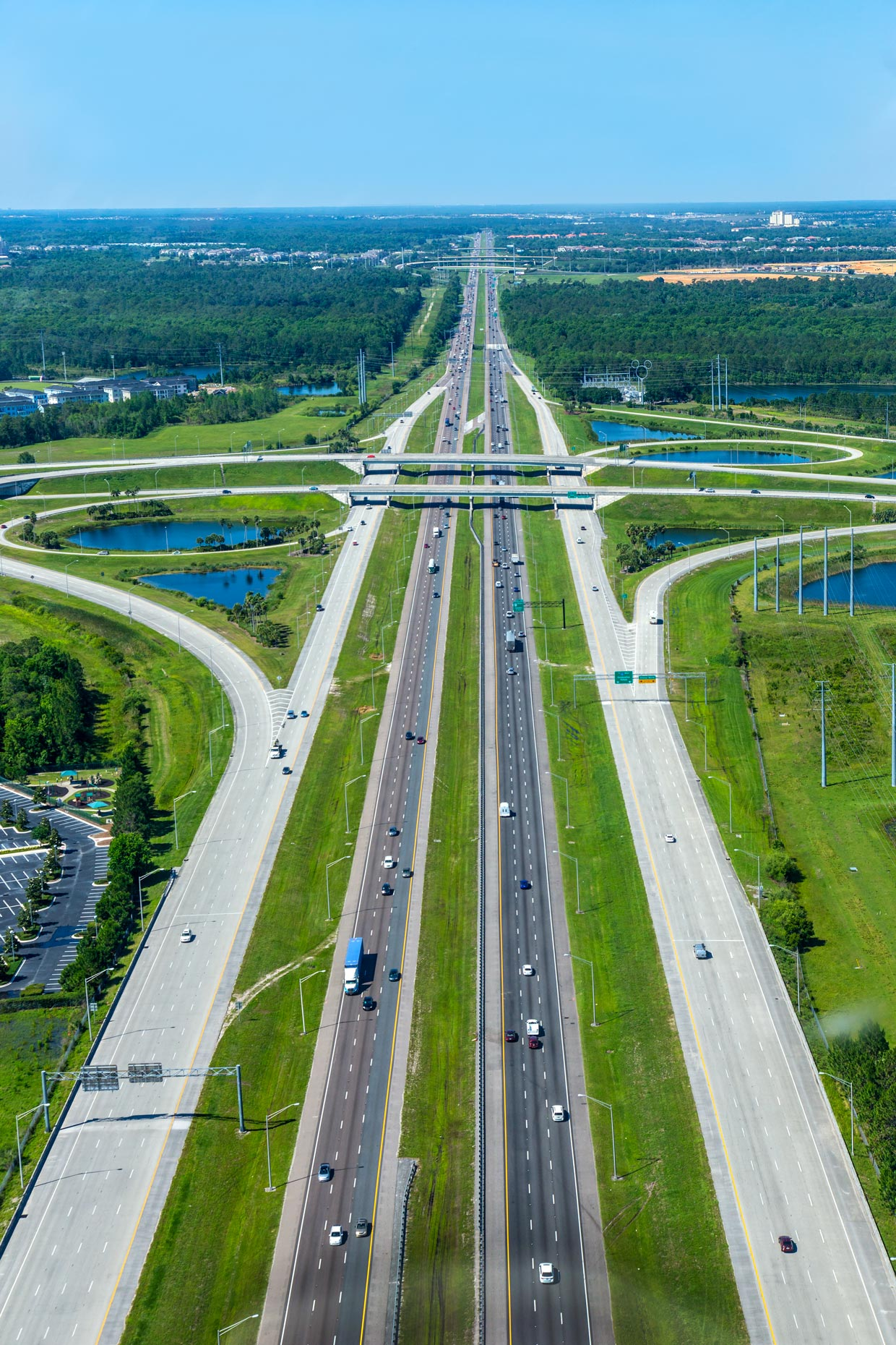 Aerial Photography | Interstate  Road I-4