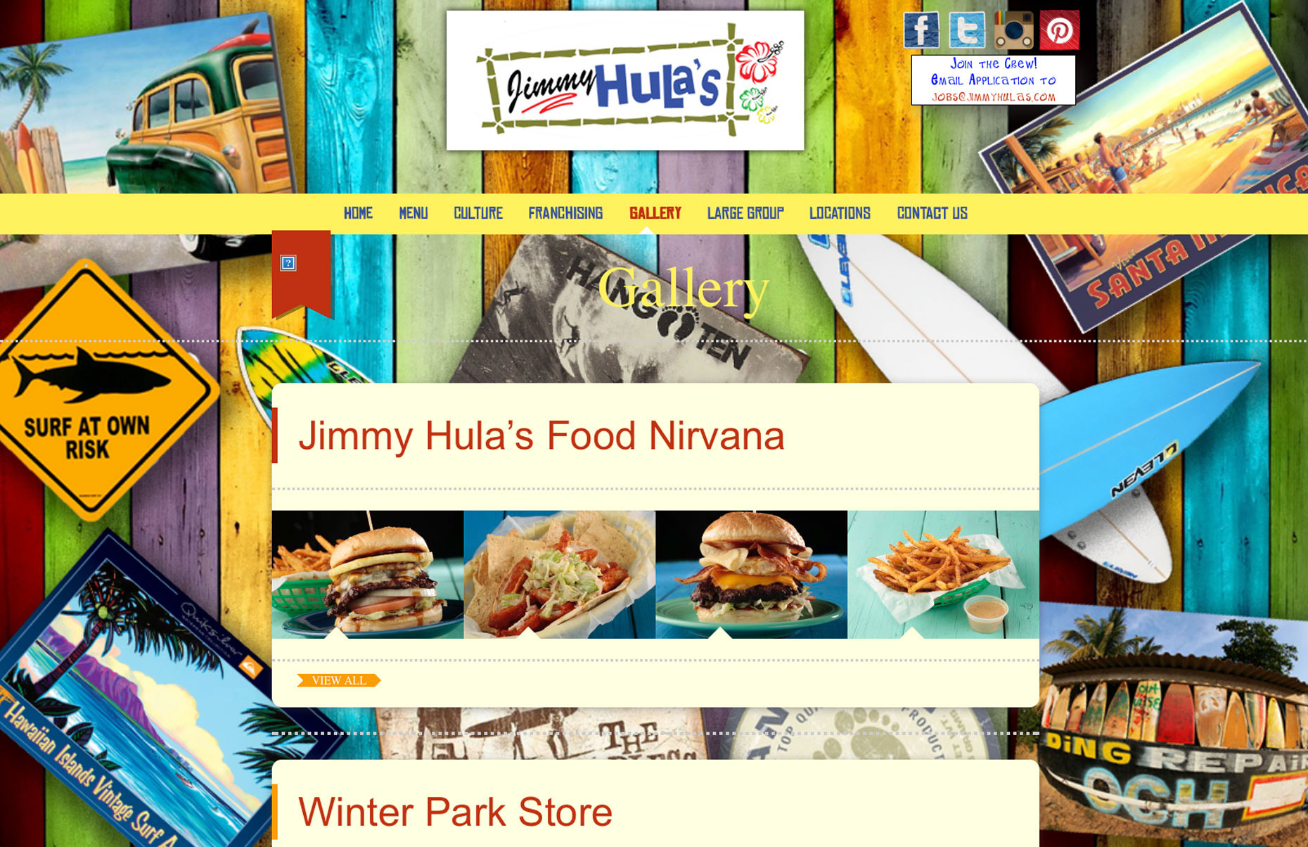 Jimmy Hulas Restaurant Winter Park Florida -