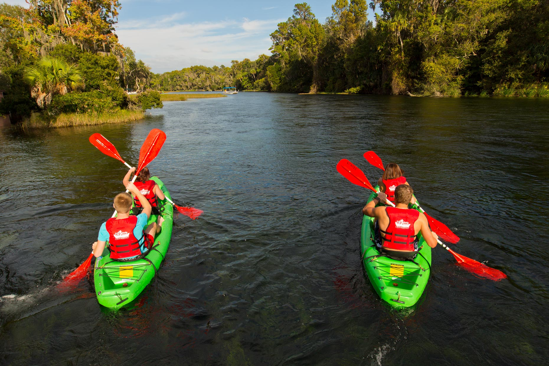 Lifestyle Photography | Kayaking in Ocala