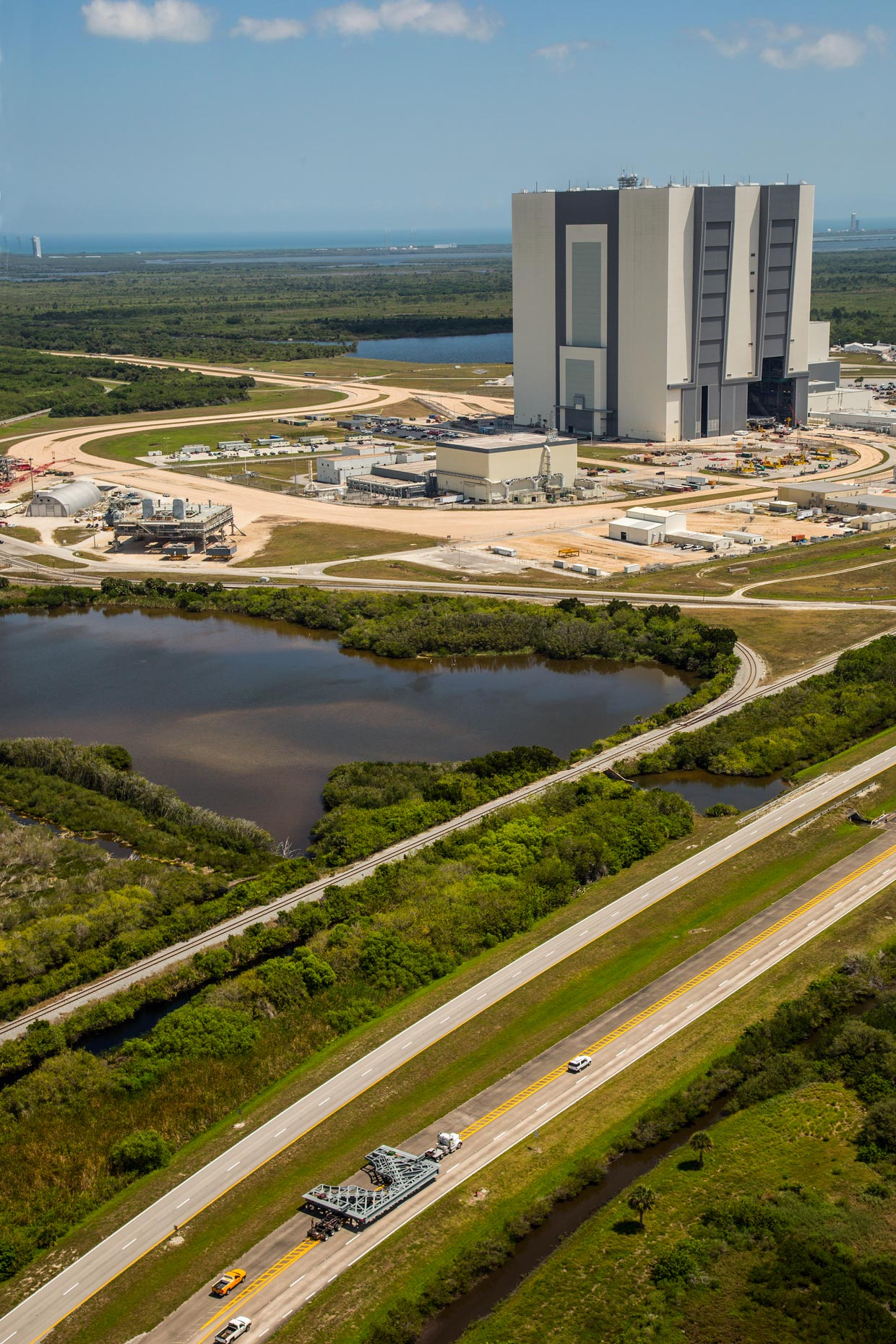 Aerial Photography | Kennedy Space Center Vehicle Assembly Building