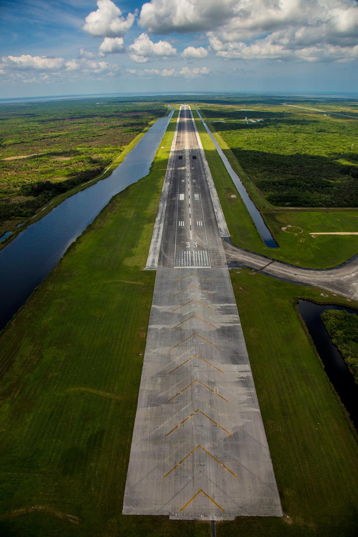 Aerial Photography | Kennedy Space Center Runway