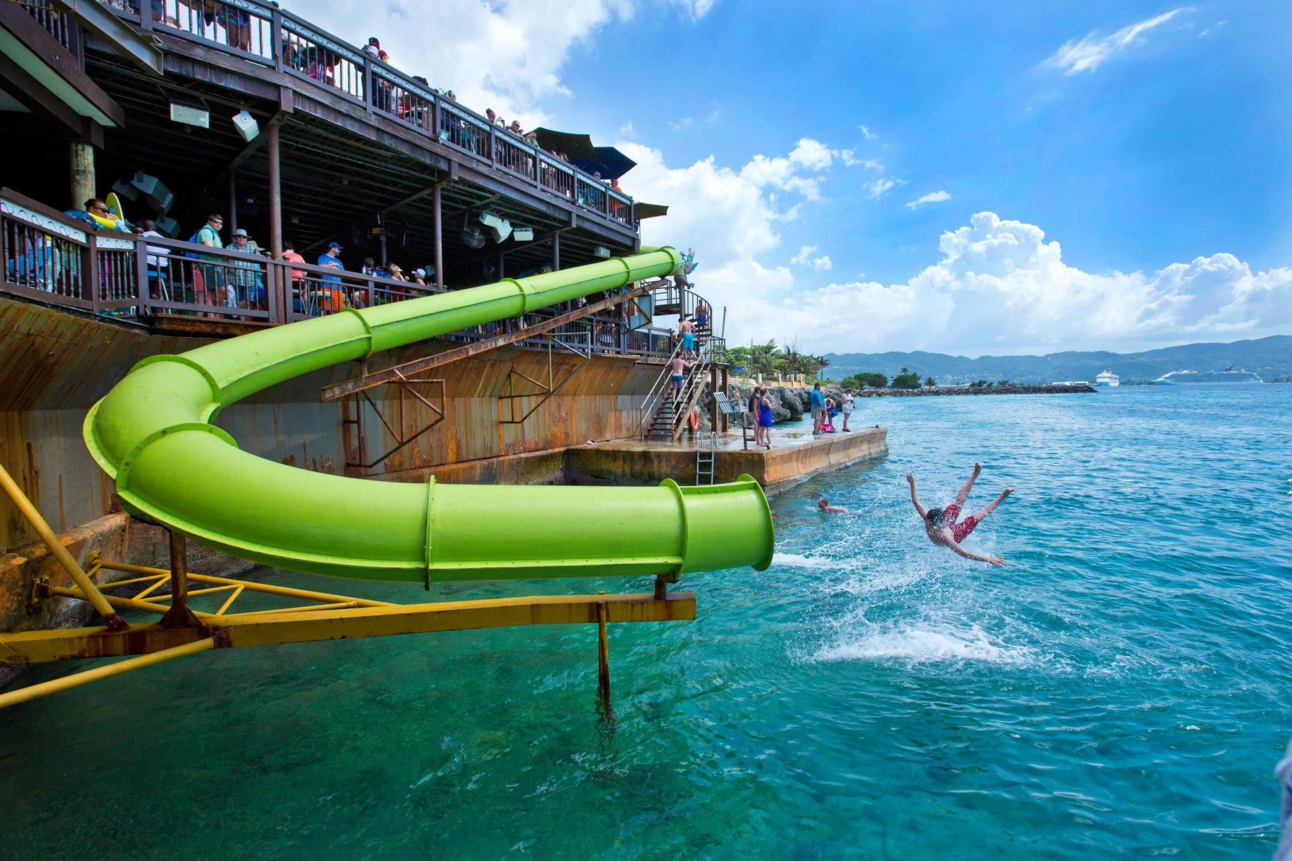 Lifestyle Photography | Margaritaville Montego Bay Waterslide