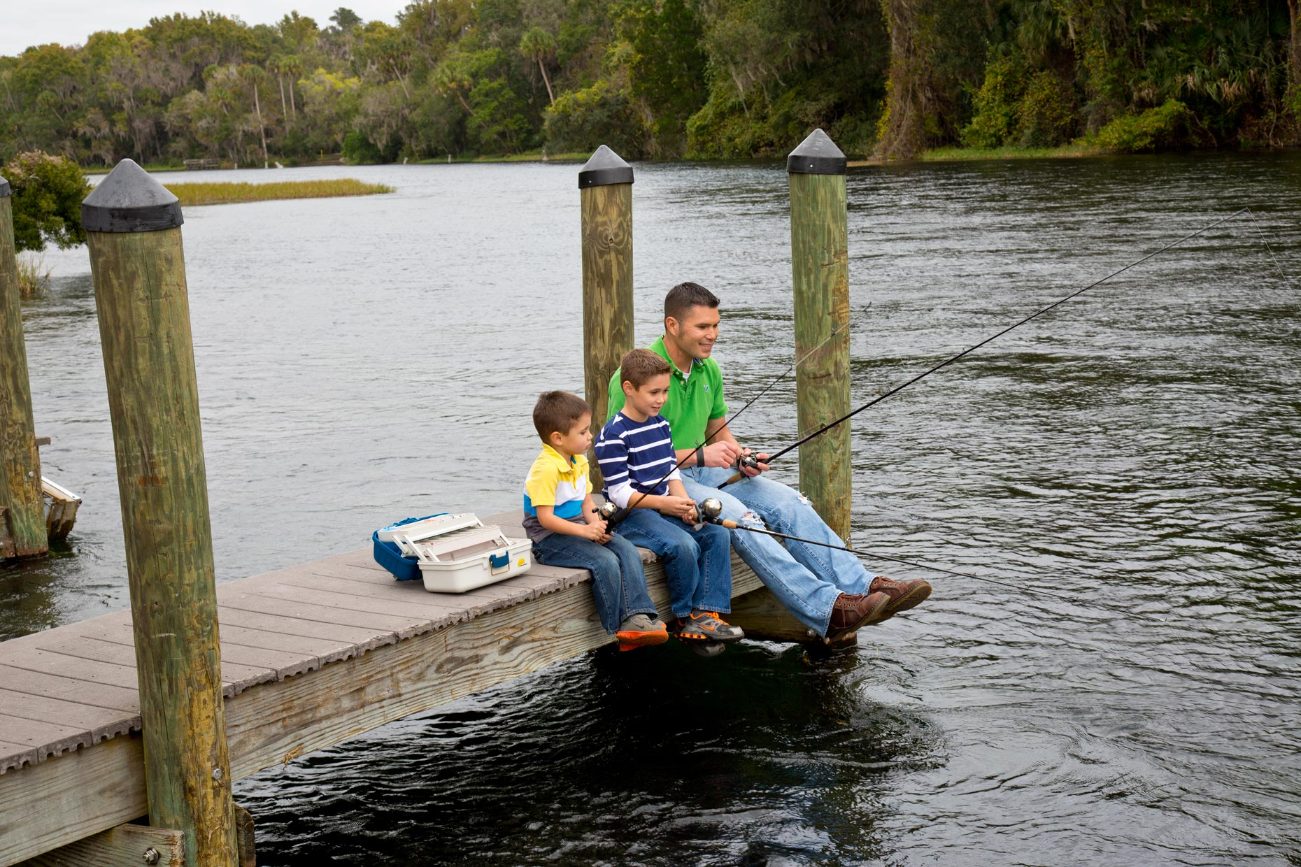 Lifestyle Photography | Fishing in Ocala