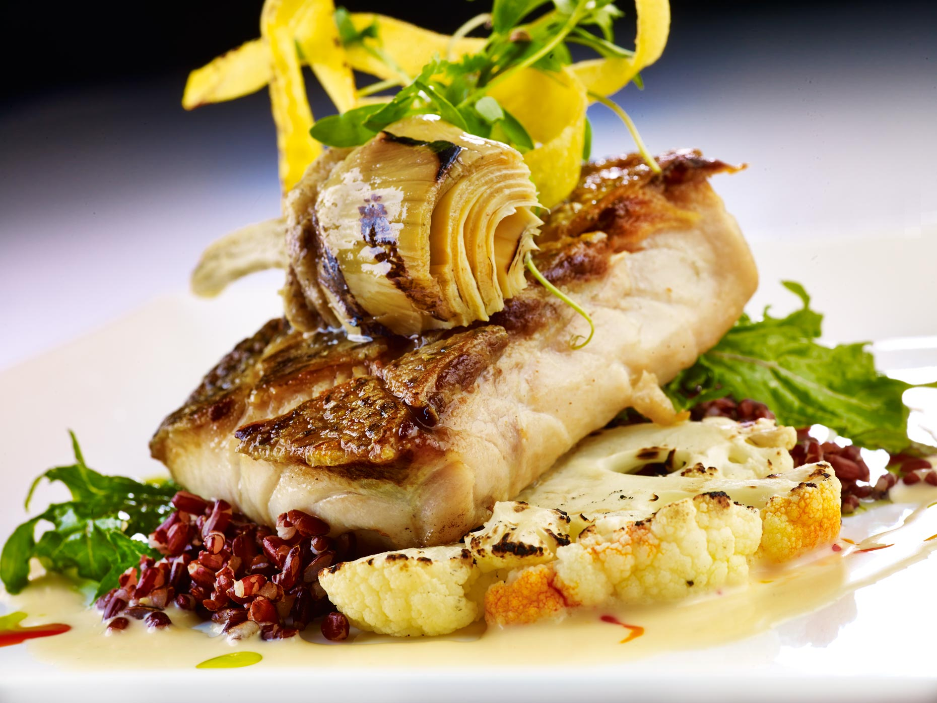 Orlando Food Photography | Sea Bass
