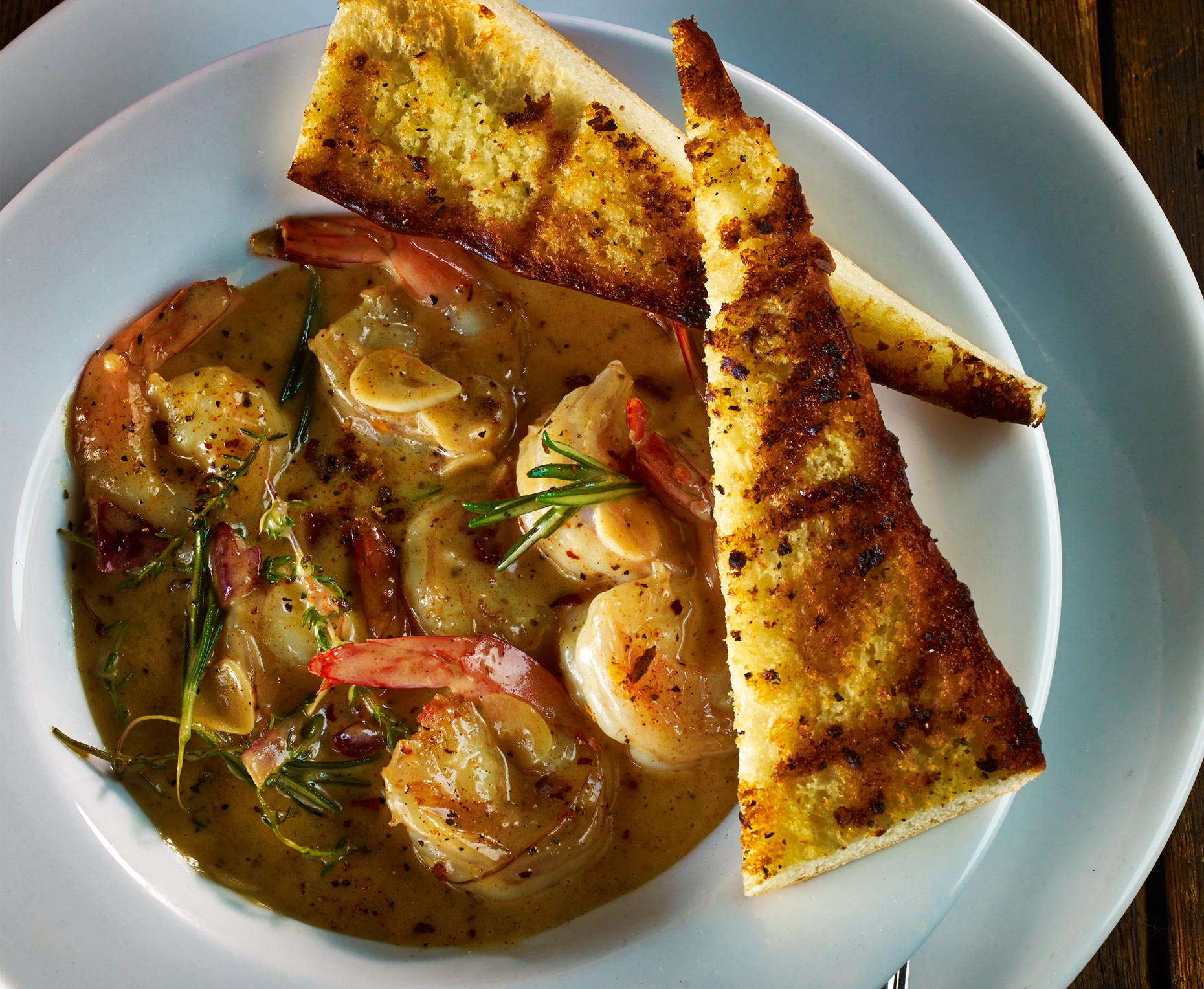 Food Photography | Shrimp and Toast