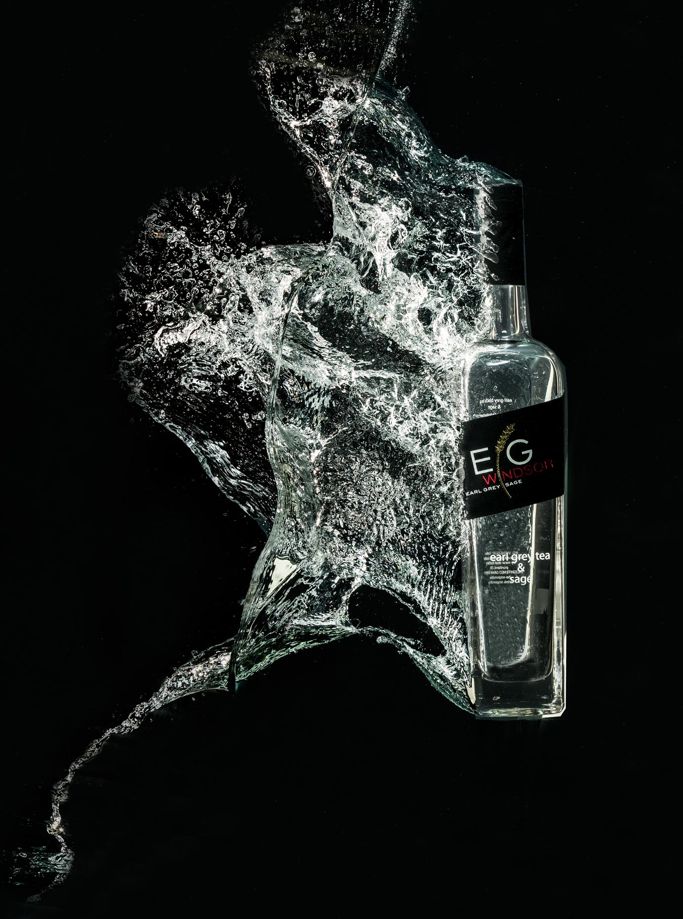 Beverage Photography | EG Vodka Splash
